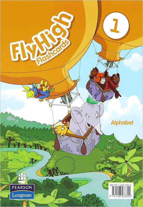 Fly High 1: Alphabet: Flashcards (набор из 27 карточек) футболка на заказ со своей картинкой
