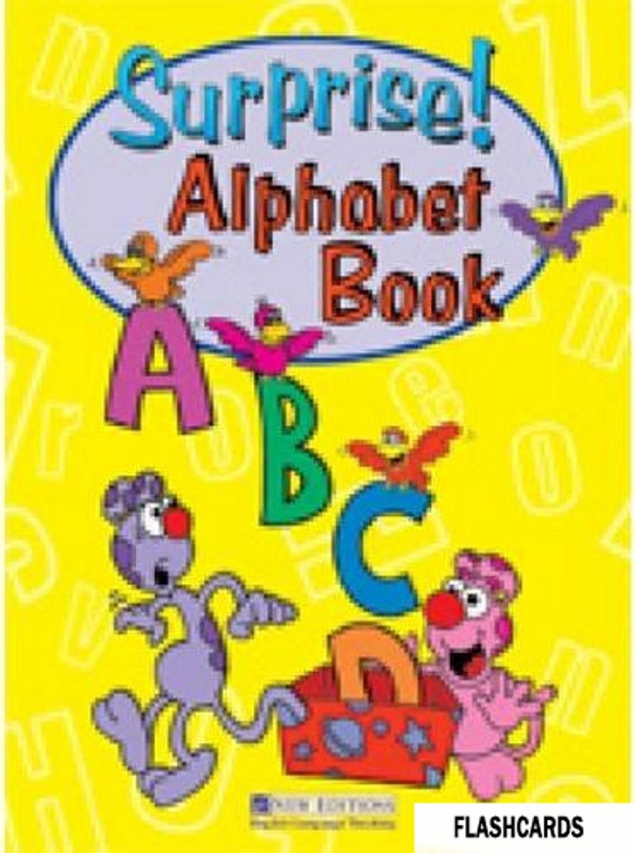 Surprise! Alphabet Flashcards