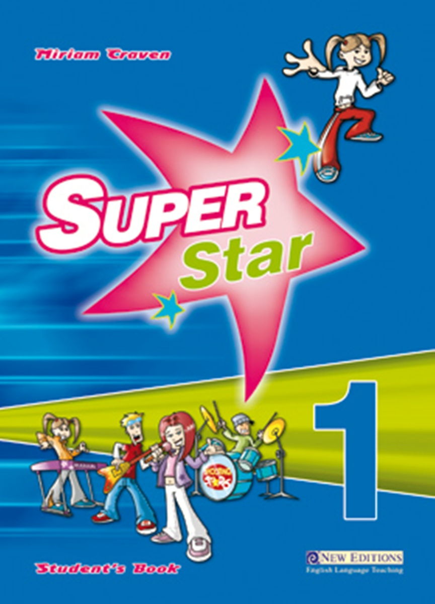 Super Star 1 Student's Book [with Audio CD(x2)] touchstone teacher s edition 4 with audio cd