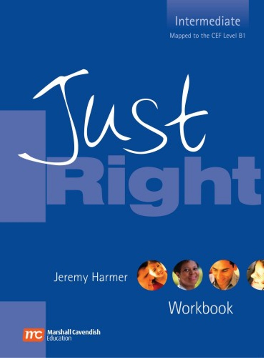 Just Right Intermediate Workbook [with Audio CD(x1) & No Key) touchstone teacher s edition 4 with audio cd