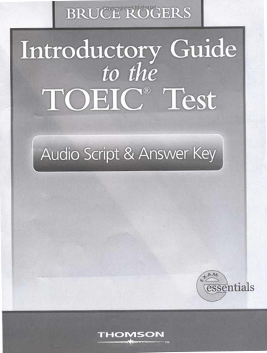 Intro Guide To TOEIC Answer Key
