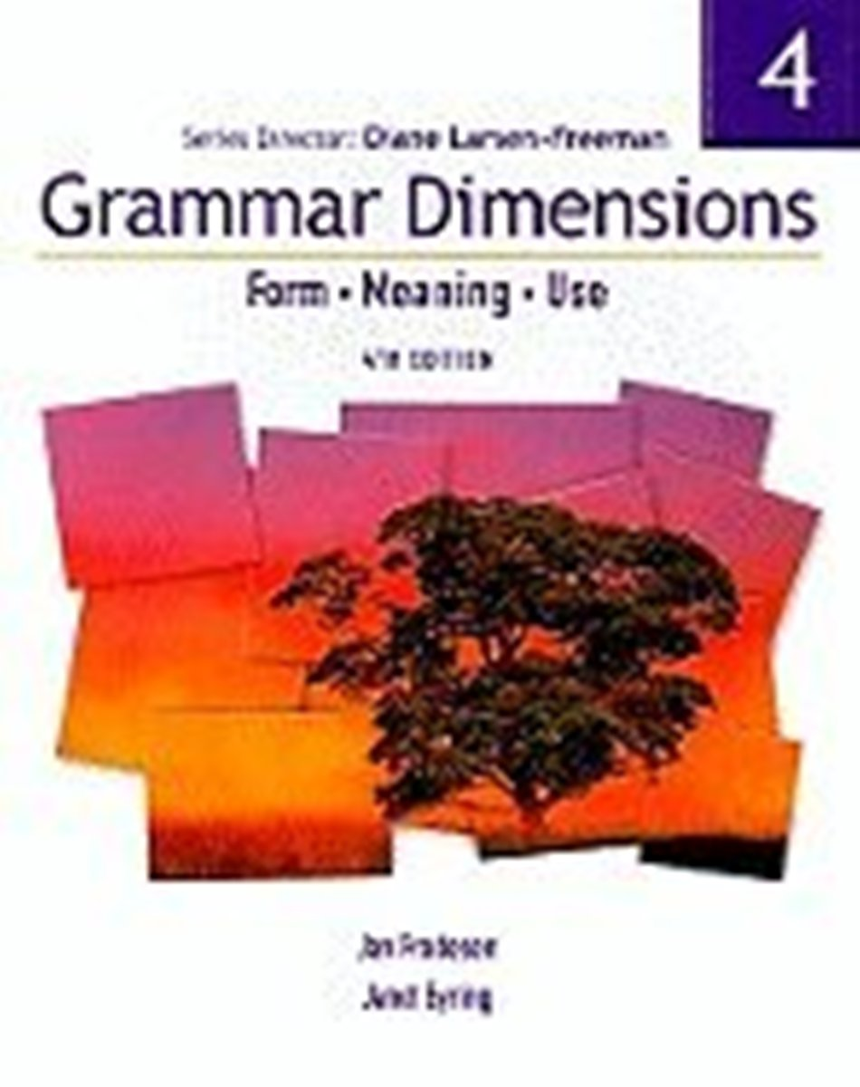Grammar Dimensions 4 Student's Book (with Infotrac) ISE delta language practice using spoken grammar