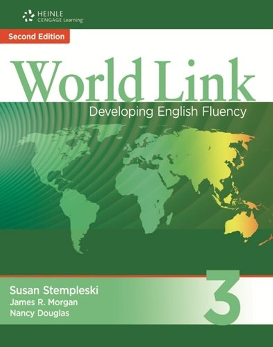 World Link 3: Developing English Fluency (+ CD-ROM) cambridge essential english dictionary second edition
