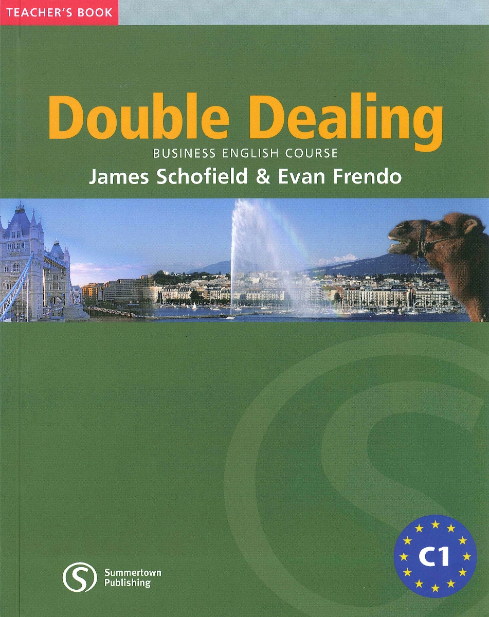 Double Dealing Upper-Intermediate Teacher's Book cambridge english business benchmark upper intermediate business vantage student s book
