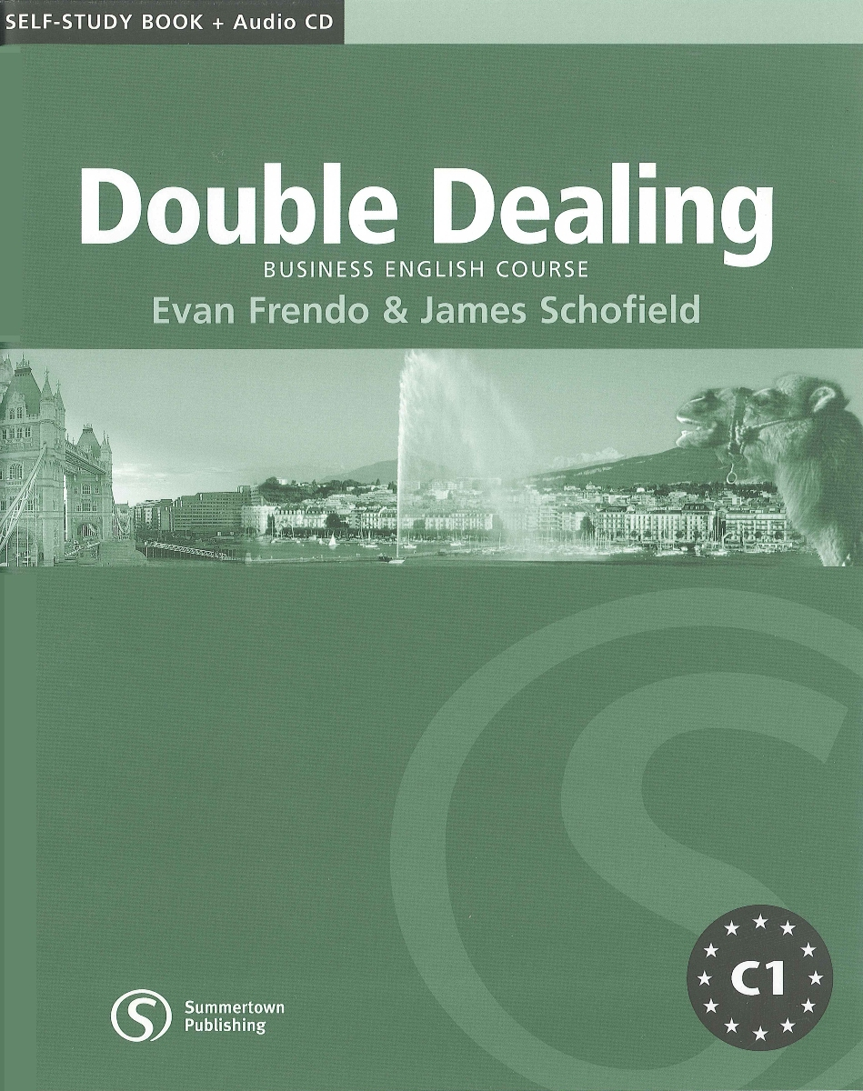 Double Dealing Upper-Intermediate Self-Study Book [with Audio CD(x1)] cambridge english business benchmark upper intermediate business vantage student s book