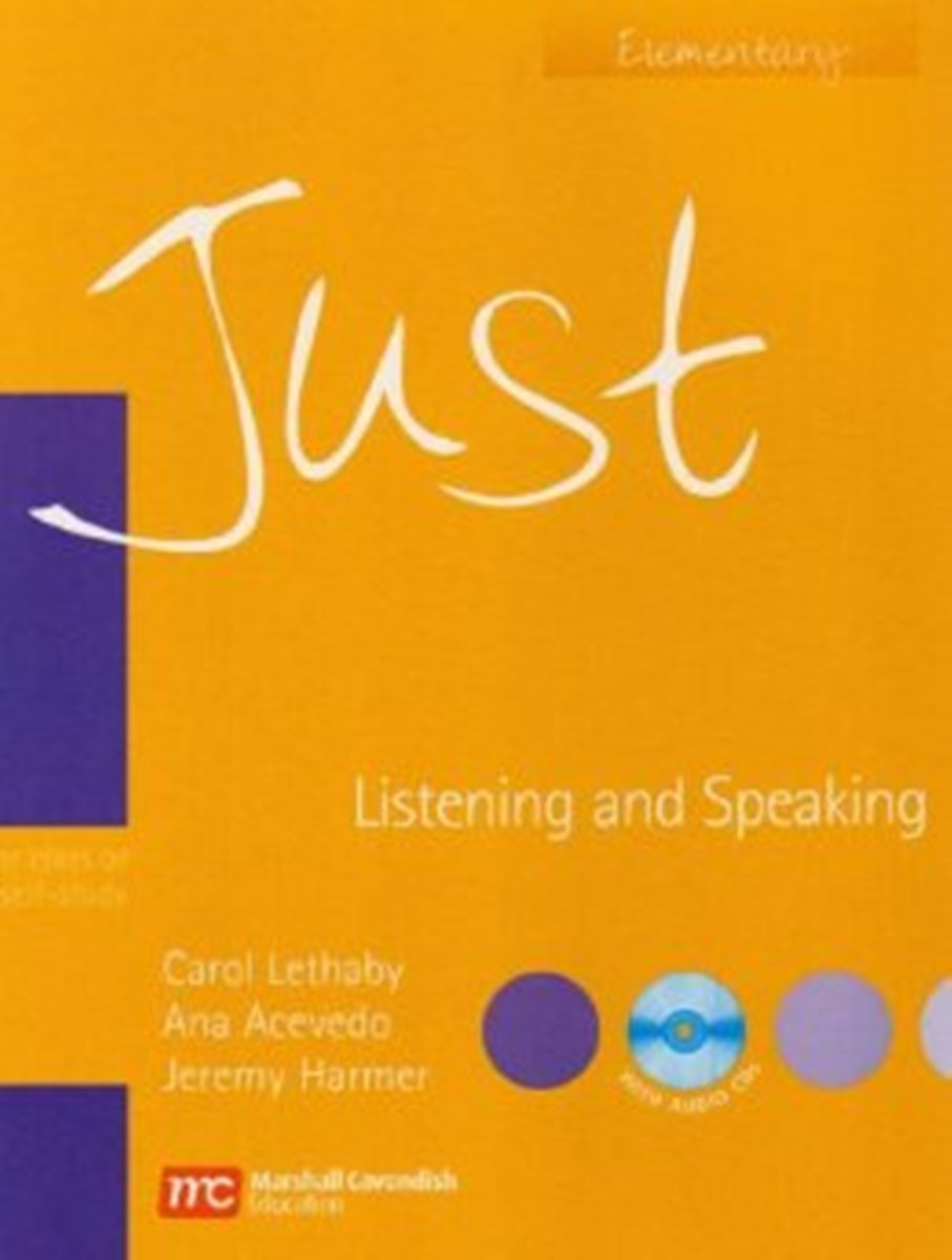 Just Listening/Speaking Elementary Student's Book [with Audio CD(x1)] just skills pre int grammar bre