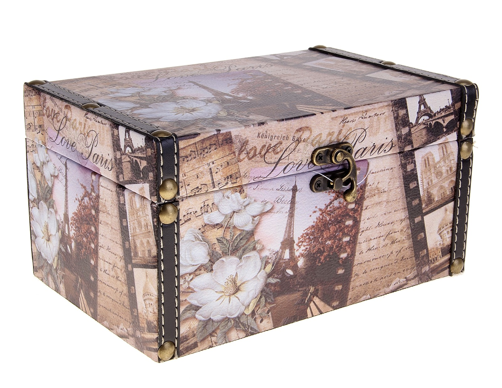 Шкатулка Роман о Париже, 22 см х 14 см х 11,5 см шкатулки magic home шкатулка дождь в париже