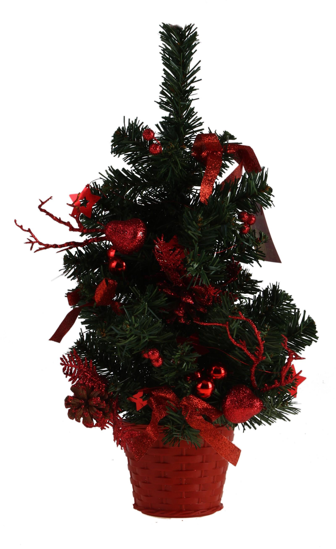 Декоративное украшение Новогодняя елочка. 705180705180Оригинальный дизайн новогодней елки притягивает к себе восторженные взгляды. Елка настенная украшена шишками, блестящими лентами, ягодами, шариками. Елка украсит интерьер вашего дома или офиса к Новому году и создаст теплую и уютную атмосферу праздника.Откройте для себя удивительный мир сказок и грез. Почувствуйте волшебные минуты ожидания праздника, создайте новогоднее настроение вашим дорогим и близким. Характеристики: Материал:пластик. Высота елки:45 см. Изготовитель:Китай. Артикул:705180.