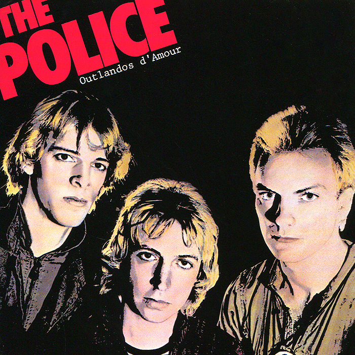 The Police The Police. Outlandos D'amour police