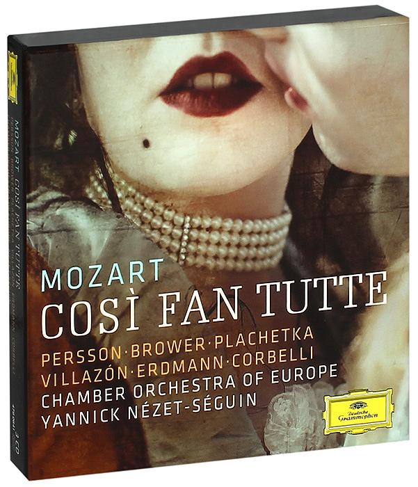 Yannick Nezet-Seguin. Mozart. Cosi Fan Tutte (3 CD)