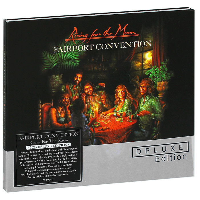 Fairport Convention Fairport Convention. Rising for the Moon. Deluxe Edition (2 CD) rising cd