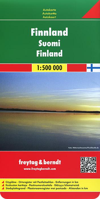 Finnland: Autokarte какое авто можно до 500000