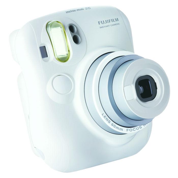Fujifilm Instax Mini 25, Whiteфотокамера мгновенной печати Fujifilm