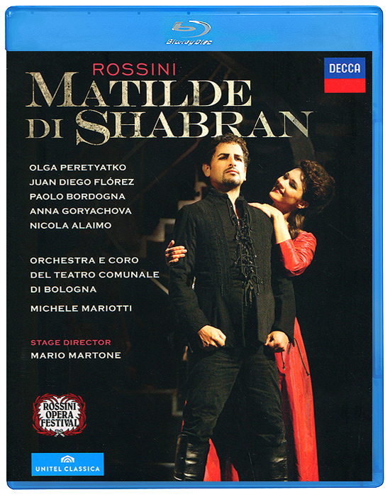 Michele Mariotti, Rossini: Matilde Di Shabran, Neapolitan Version, 1821 (Blu-ray) atlantic часы atlantic 71460 41 51 коллекция seahunter
