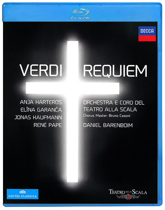 Daniel Barenboim, Verdi: Requiem (Blu-ray) 1 pair car led lights 12 24v drl head lights 8w turn light strip