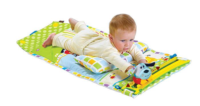 Yookidoo Интерактивный коврик-сумка Карапуз
