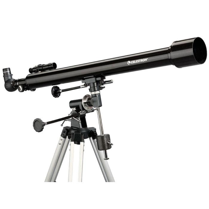 Celestron PowerSeeker 60 EQ телескоп-рефракторC21043Телескоп Celestron PowerSeeker 60 EQ обладает необходимым для начинающего наблюдателя набором базовых функций и предлагается по минимальной цене. Теперь, с помощью телескопа серии PowerSeeker Вы сможете познакомить своего ребенка со звездным небом, не тратя на оборудование астрономические суммы.Во всех инструментах серии используются только стеклянные объективы, имеющие большое преимущество перед пластиковыми линзами, используемыми в телескопах начального уровня некоторых других производителей. Для улучшения пропускания света на оптические элементы нанесено эффективное просветляющее покрытие.