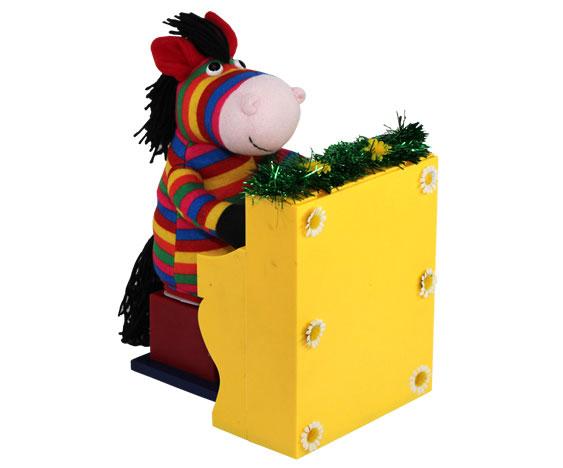 Анимированная игрушка Конь Музыкант, 29 см книги эксмо конь и его мальчик