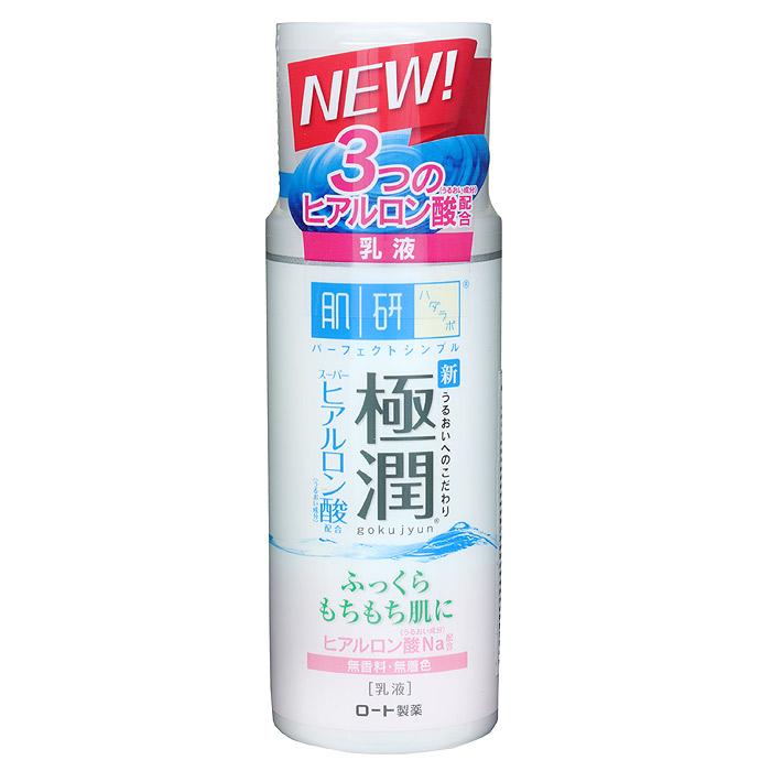Hada Labo Дневное молочко, 140 мл127054Насыщенное увлажняющее молочко Hada Labo отлично удерживает влагу в коже в дневное время.Быстро впитывается, может использоваться как основа под макияж.Не содержит ароматизаторы, искусственные красители, минеральные масла и спирт. Имеет нейтральный РН-баланс.Увлажняющие компоненты: содержит 3 вида гиалуроновой кислоты. Гиалуроновая кислота 1 грамм способен удержать до 6 литров воды и является барьером препятствующим потере влаги. Супер-гиалуроновая кислота способна удерживать влагу в 2 раза больше чем гиалуроновая кислота. Поддерживает запасы влаги в коже, препятствует появлению сухости и стянутости, сохраняет мягкость и эластичность кожи. Размер молекул Нано-гиалуроновой кислоты настолько мал, что они свободно проникают в более глубокие слои кожи, отлично увлажняя ее изнутри.Способприменения: рекомендуется использовать после увлажняющего лосьона. 2-3 капли молочка нанести на кожу лица и шеи по массажным линиям. Легкий массаж обеспечивает более эффективное проникновение активных компонентов. Характеристики:Объем: 140 мл. Артикул: 127054. Производитель: Япония. Товар сертифицирован.