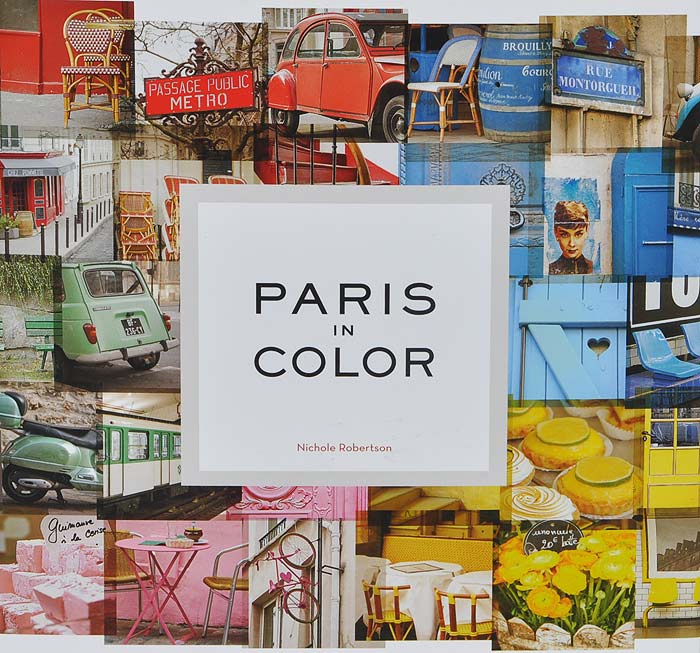 Paris in Color art doodle love a journal of self discovery