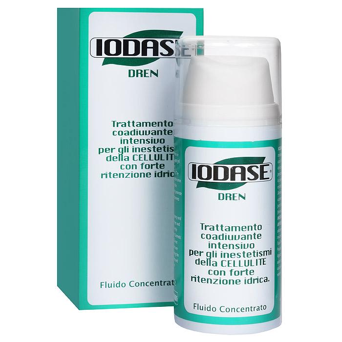 Iodase Сыворотка дренажная Dren для тела, для профилактики и лечения целлюлита, 100 мл сыворотки iodase сыворотка для тела lipolit