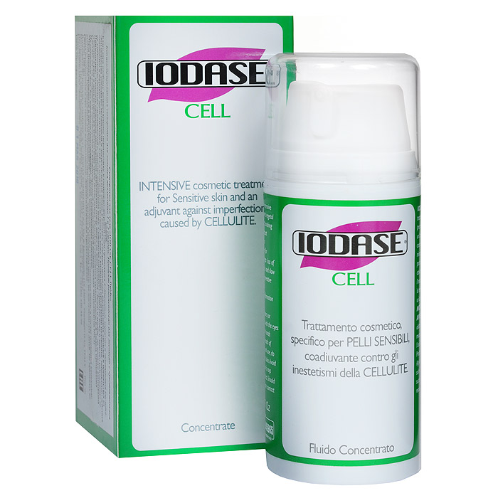 Iodase Сыворотка для тела Cell, для лечения целлюлита, 100 мл сыворотка для тела iodase deep impact ultra serum iodase
