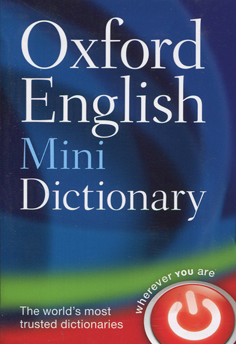 Oxford English Mini Dictionary early learning everyday words