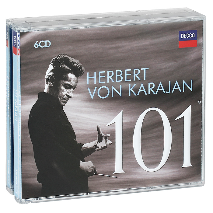 Герберт Караян,Wiener Philharmoniker,Berliner Philharmoniker 101 Herbert von Karajan (6 CD) dave lakhani power of an hour business and life mastery in one hour a week