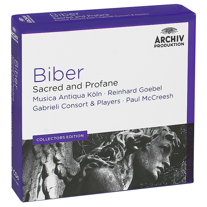 Musica Antiqua Koln Orchestra,Gabrieli Consort And Players Orchestra,Рейнхард Гебель,Пол Маккриш Biber. Sacred And Profane (7 CD)