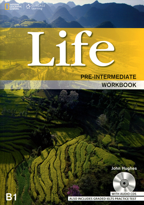 Life: Pre-intermediate: B1: Workbook (+ 2CD) roberts rachael sayer mike insight pre intermediate workbook