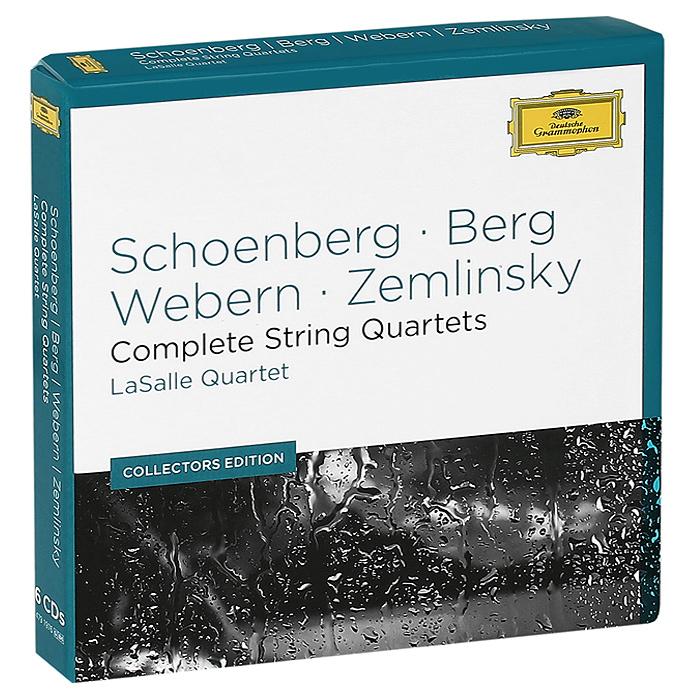 LaSalle Quartet LaSalle Quartet. Schoenberg, Berg, Webern, Zemlinsky. Complete String Quartets (6 CD) escher string quartet escher string quartet mendelssohn string quartets nos 2