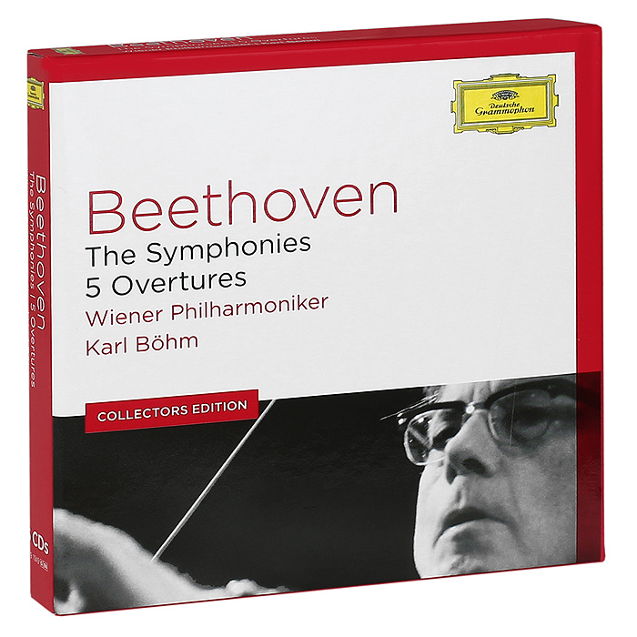 Карл Бем,Wiener Philharmoniker Orchestra Karl Bohm, Wiener Philharmoniker. Beethoven. The Symphonies. 5 Overtures (6 CD) riccardo chailly beethoven the symphonies 5 cd