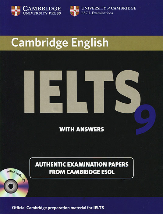 Cambridge IELTS 9 Self-study Pack with Answers (+ 2 CD) milton j exams ielts practice tests 2 with answers