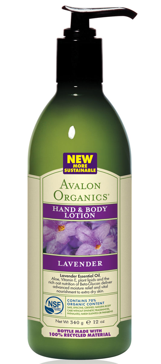 Avalon Organics Лосьон для рук и тела Лаванда, 340 мл avalon organics thick3ning conditioner b complex