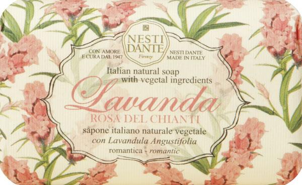 Nesti Dante Мыло Lavanda Rosa del Chianti, 150 г1794106Мыло Nesti Dante Lavanda Rosa del Chianti является натуральным и питательным растительным мылом с игристым и отчасти мистическим ароматом. Характеристики:Вес: 150 г. Артикул: 1794106. Производитель: Италия. Товар сертифицирован.
