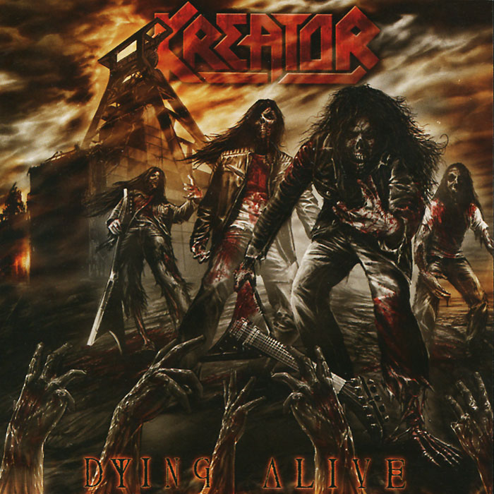 Kreator Kreator. Dying Alive (2 CD) bicycle touch screen tube bag bike cycling touch screen mobile phone bag pannier bag