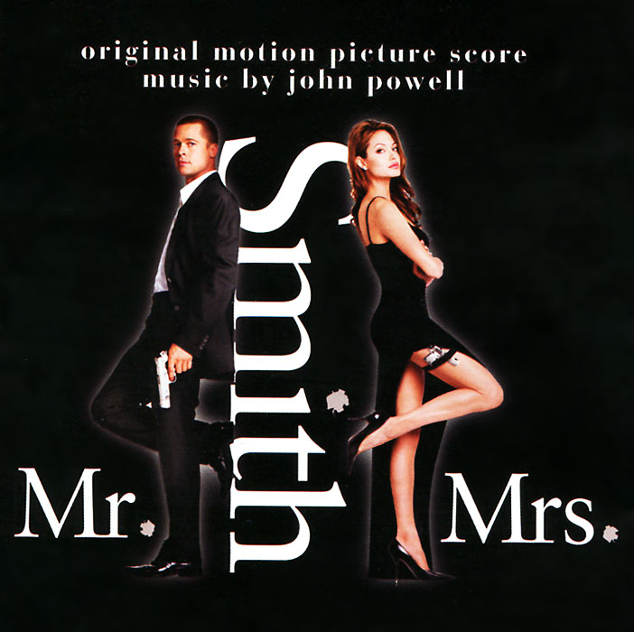Mr. & Mrs. Smith. Original Motion Picture Score Musik By John Powell