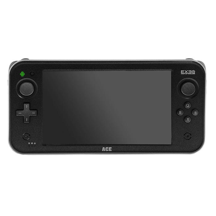 Игровая консоль EXEQ ACE (черная)MP-1024EXEQ ACE - супермощная игровая консоль с 7-ми дюймовым дисплеем! Устройство оборудовано двухъядерным процессором с частотой 1,5 ГГц и 1 Гб оперативной памяти - загружайте самые последние приложения, бороздите просторы интернета, играйте в игры и наслаждайтесь быстродействием Вашего устройства!Яркий 7-ми дюймовый дисплей с разрешением 1024 на 600 пикселей и поддержкой мультитач до 5-ти точек касания подарит еще больше комфорта при просмотре фильмов, чтения книг, прохождения уровней в любимой игре!Поддержка игровой консольюOTG и HDMI-выхода, позволит подключить к игровой приставке USB-диск, клавиатуру или мышь, а также вывести любимые игры и видео на самые большие экраны телевизоров! Exeq ACE- новые возможности Вашей игровой приставки!