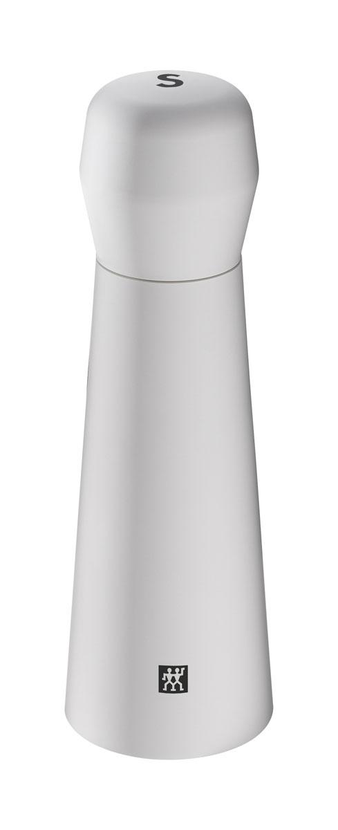 Мельница для соли, цет: белый. 39500-02239500-022Мельница для перца предназначена для измельчения соли. Измельчающий механизм выполнен из керамики, корпус из пластика. Мыть влажной тряпочкой. Хранить в недоступном для детей месте. Нельзя мыть в посудомоечной машине.