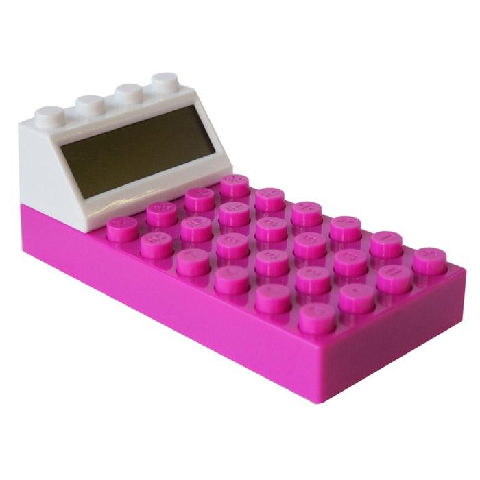 Калькулятор  Конструктор , цвет: фиолетовый. 002919 -  Калькуляторы