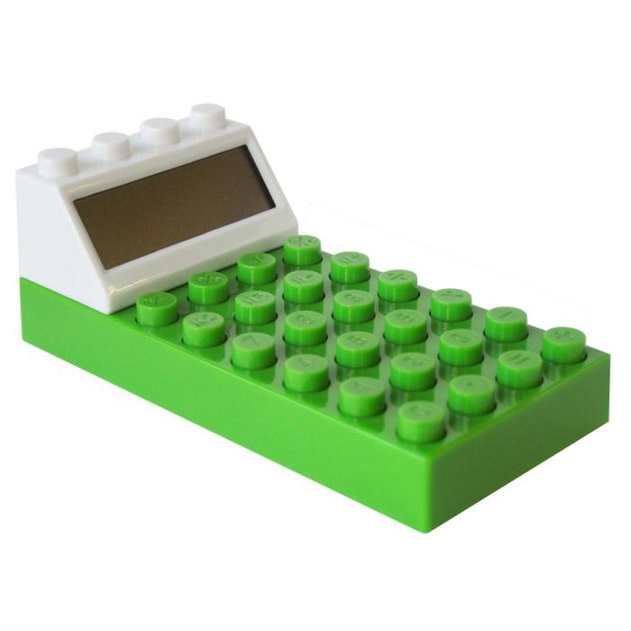 Калькулятор Конструктор, цвет: зеленый. 002924002924Калькулятор Конструктор выполнен из пластика зеленого цвета и по дизайну напоминает элемент конструктора Lego. Несмотря на свой нестандартный вид, он позволит вам без труда провести самые сложные вычисления за считанные секунды.Такой калькулятор станет забавным и практичным подарком - он украсит ваш рабочий стол и не затеряется среди бумаг. Характеристики: Материал: пластик. Цвет: зеленый. Размер калькулятора: 6,5 см х 14 см х 5 см. Размер упаковки: 11,5 см х 16 см х 6 см. Артикул: 002924. Калькулятор работает от 2 батареек типа ААА (в комплект не входят).