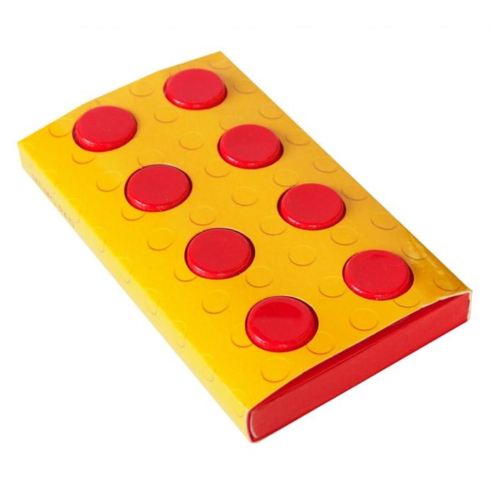 Блокнот Конструктор, цвет: красный, 8 см х 14 см. 002879 блокнот конструктор цвет желтый 8 см х 14 см 002750