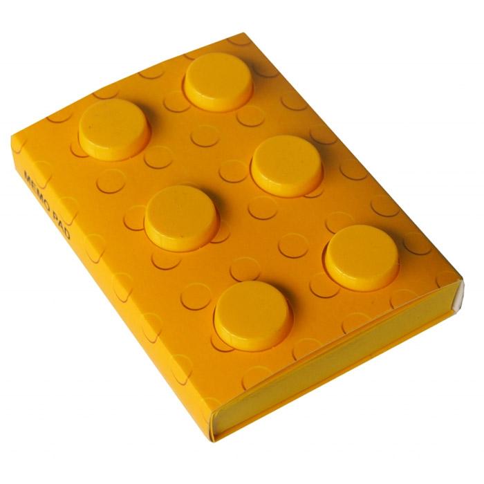 Блокнот Конструктор, цвет: желтый, 8 см х 11,5 см. 002749002749Оригинальный блокнот Конструктор - это незаменимая вещь для офиса, школы и дома. Обложка блокнота выполнена из мягкого пластика желтого цвета и по дизайну напоминает элемент конструктора. Внутри содержится блок из тонированных нелинованных листов желтого цвета. Такой блокнот идеально подойдет для пометок, записи адресов, номеров телефона и многого другого. Характеристики: Материал: пластик, бумага. Цвет: желтый. Размер блокнота: 8 см х 11,5 см х 2,3 см. Артикул: 002749.