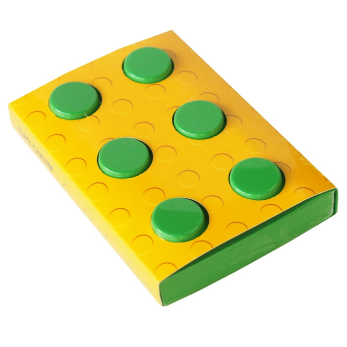 Блокнот Конструктор, цвет: зеленый, 8 см х 11,5 см. 002876002876Оригинальный блокнот Конструктор - это незаменимая вещь для офиса, школы и дома. Обложка блокнота выполнена из мягкого пластика зеленого цвета и по дизайну напоминает элемент конструктора. Внутри содержится блок из тонированных нелинованных листов зеленого цвета. Такой блокнот идеально подойдет для пометок, записи адресов, номеров телефона и многого другого. Характеристики: Материал: пластик, бумага. Цвет: зеленый. Размер блокнота: 8 см х 11,5 см х 2,3 см. Артикул: 002876.
