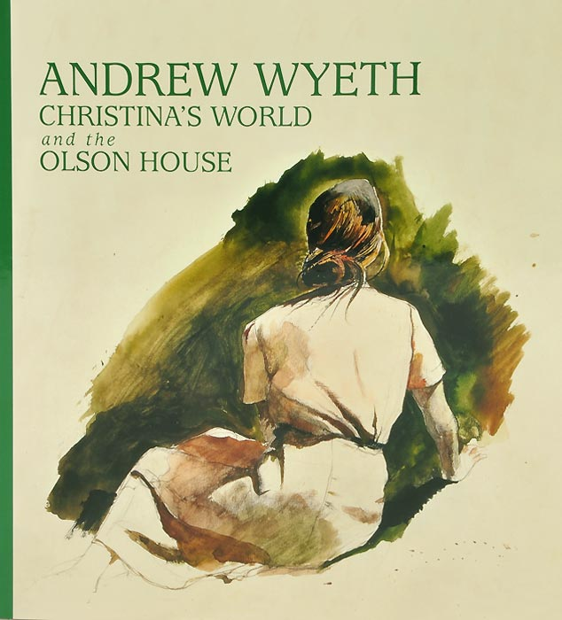 Andrew Wyeth: Christina's World and the Olson House british museum around the world colouring book