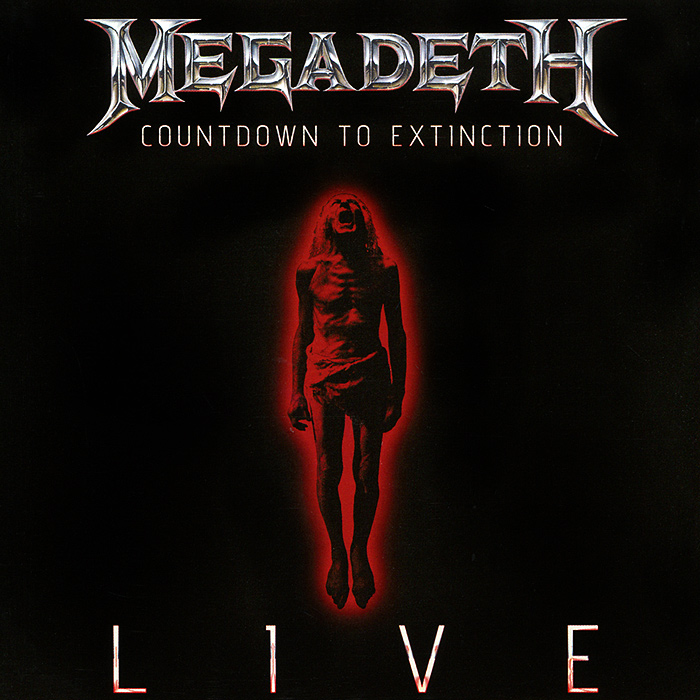 Megadeth Megadeth. Countdown To Extinction. Live megadeth countdown to extinction live blu ray