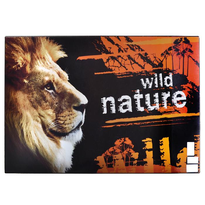"""Настольная подкладка для письма """"Дикая природа"""", 66 см х 43 см, Panta Plast"""
