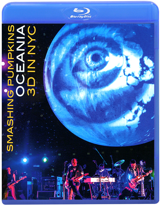 Smashing Pumpkins - Oceania: 3D In NYC (Blu-ray) стол журнальный mahogany b act18