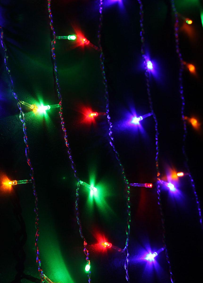 Светодиодный занавес Космос Маленькие лампочки, 200 светодиодов, цвет свечения: мульти, 2,5 мKOC_CUR200LED_RGBСветодиодная гирлянда Космос Маленькие лампочки с пластиковыми насадками в виде небольших лампочек отлично подойдет для украшения новогодней елки, окна или стены. На гирлянде расположено 200 лампочек. Провод гирлянды прозрачного цвета оснащен прямоугольным контролером с кнопкой для переключения восьми режимов. Режимы мигания электрогирлянды: combination (комбинированный); in wales (волна); sequentian (последовательный); slo-glo;chasing/flash (чеканка/вспышка) ; slow fade (медленное затухание);twinkle/flash (мерцание/вспышка); steady on (постоянный). Светодиодная гирлянда Космос Маленькие лампочки создаст праздничную атмосферу и наполнит ваш дом радостью и позитивной энергией. Характеристики:Материал: пластик. Цвет свечения: мульти. Количество светодиодов: 200 шт. Размер занавеса: 2,5 м х 1,1 м. Диаметр лампочки: 0,3 см. Режимы мигания: 8. Электропитание (от сети): 230 В. Артикул: KOC_CUR200LED_RGB.