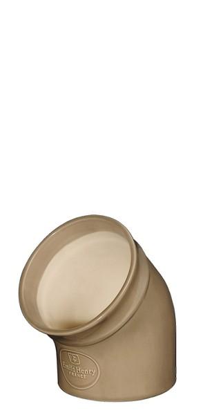 """Солонка Emile Henry """"Natural Chic"""" выполнена из высококачественной керамики, натурального природного материала, и покрыта снаружи стеклянной глазурью. Эта удобная и оригинальная емкость для хранения соли всегда должна быть на вашей кухонной полке. Морская соль в этой емкости никогда не слипнется, образуя комки и корки, так как ее внутренняя поверхность специально оставлена неглазурованной.Диаметр солонки: 10 см.Высота солонки: 13 см.Объем солонки: 0,35 л."""